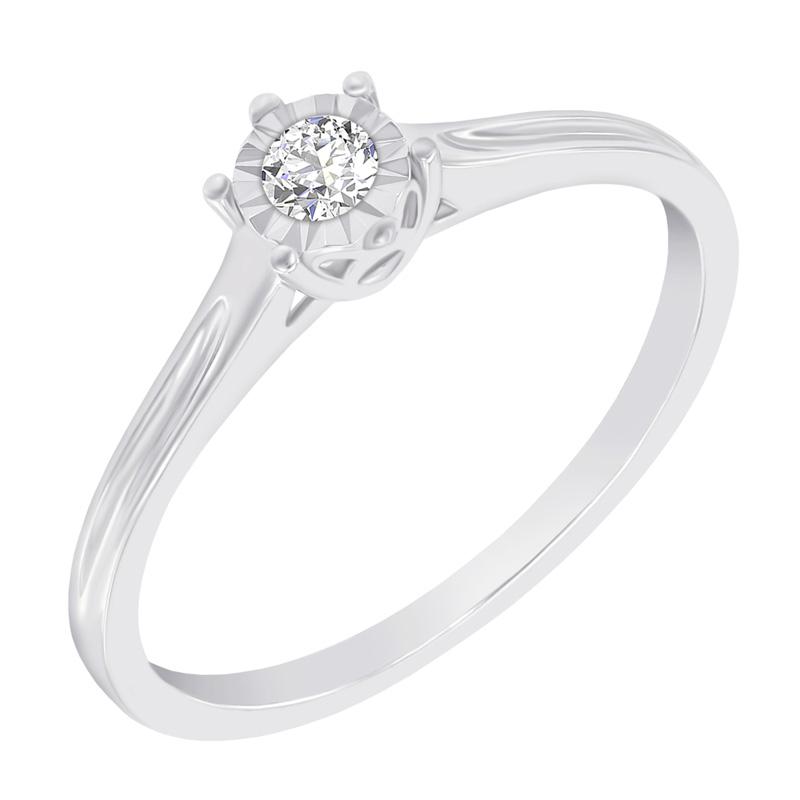 Eppi Zlatý zásnubní prsten ve stylu solitér Nuria R37293