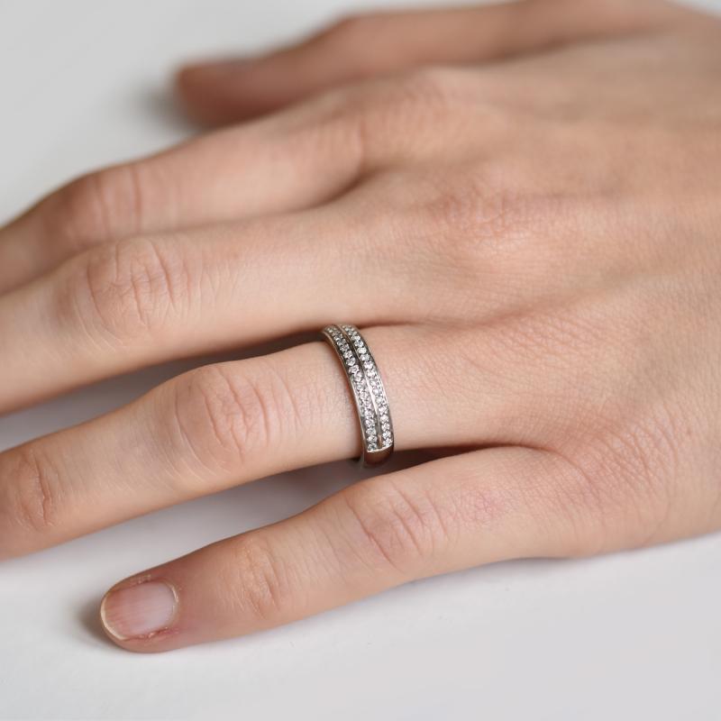 d12708704 Zlaté snubní prsteny s diamanty Sydell Zlaté snubní prsteny s diamanty  Sydell ...