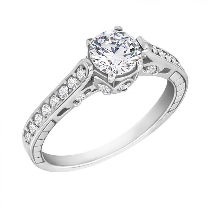 Eppi Zásnubní prsten s diamanty Volans RE35474