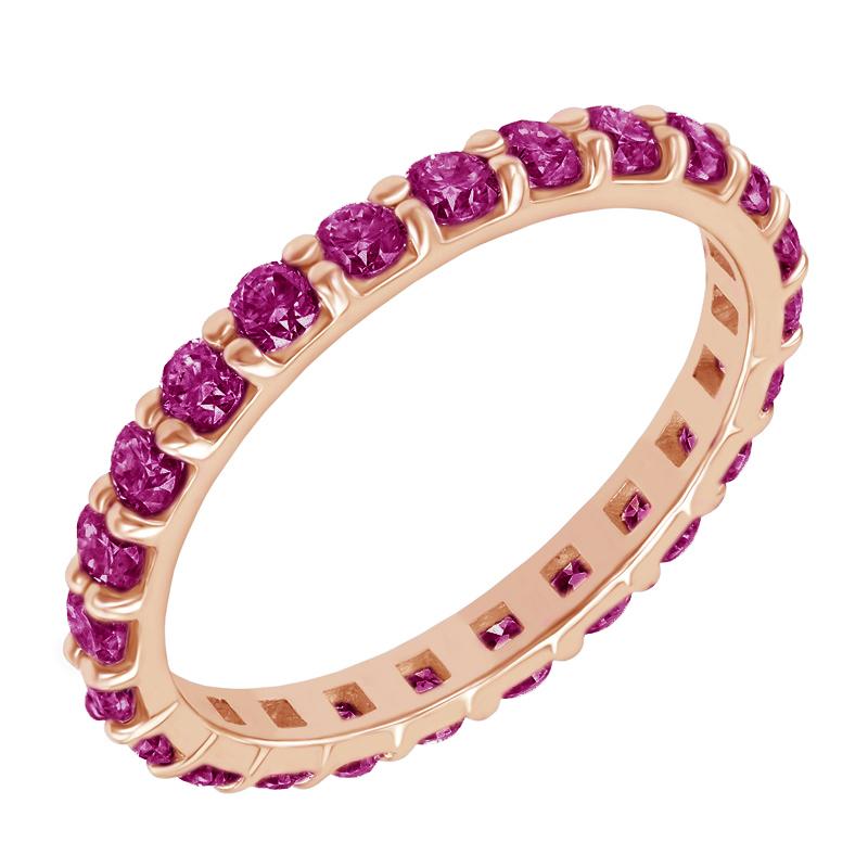 Eppi Zlatý eternity prsten s rubíny Brites R31797