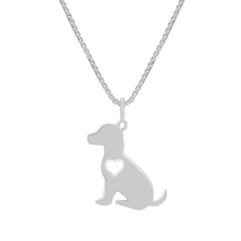 Eppi Stříbrný přívěsek ve tvaru psa Retriever P38541