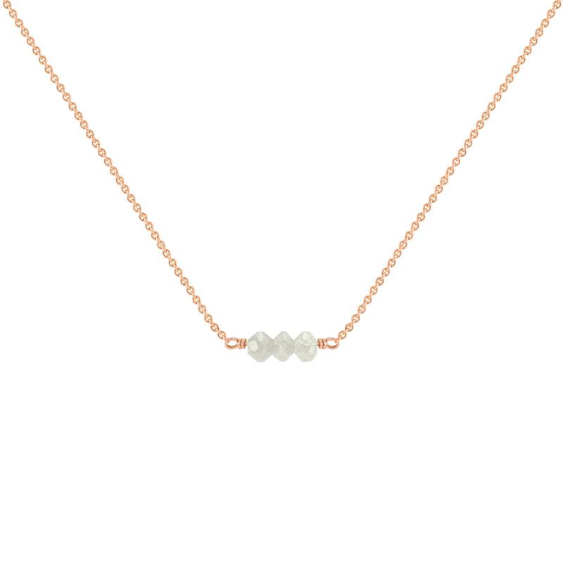 7c7773f03 Zlatý choker s diamantovými korálky Xanadie | Eppi.cz