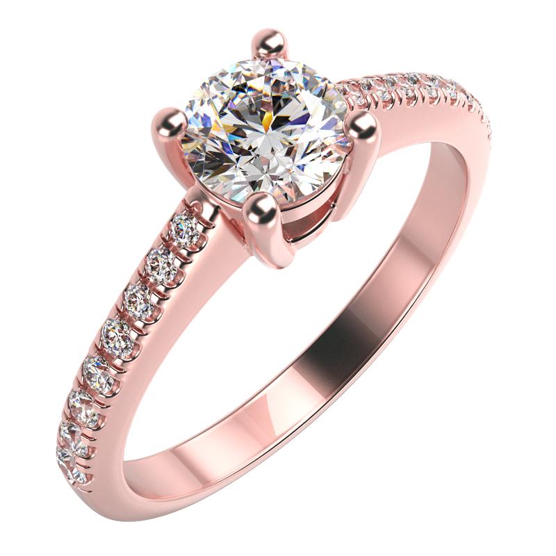 Eppi Zásnubní prsten s diamanty Dalea RE33055