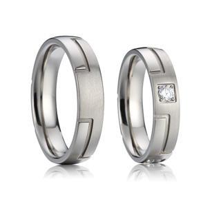 Eppi Platinové snubní prsteny Debora RW31784