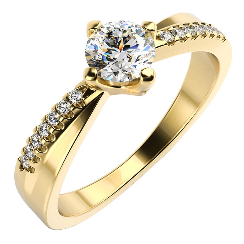 Eppi Zásnubní prsten s diamanty Sewyn RE33056