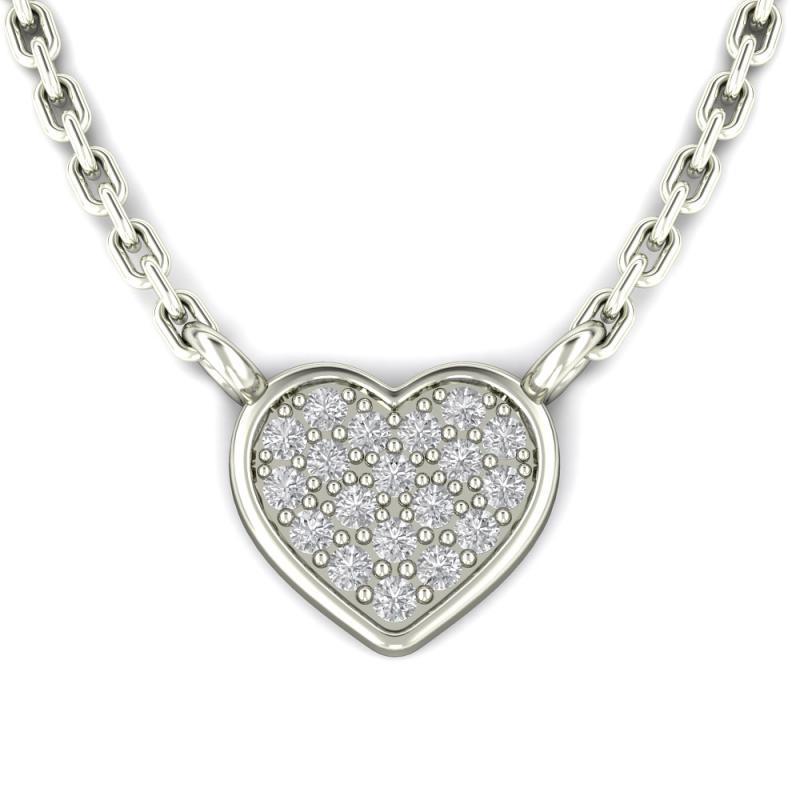 f1598d7b8 Diamantový náhrdelník ve tvaru srdce Sie | Eppi.cz