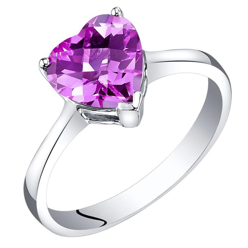 Eppi Zlatý prsten se safírovým srdcem Halle R35540